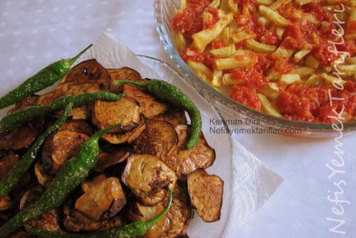 Akbak Tesisleri Biber/Patlıcan Kızartması
